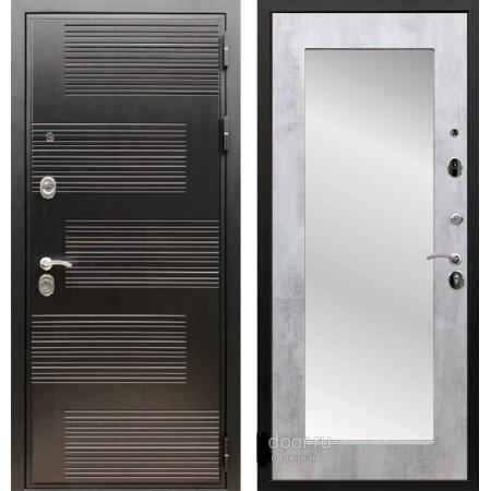 Входная металлическая дверь Рекс Премиум 185 Пастораль Бетон светлый