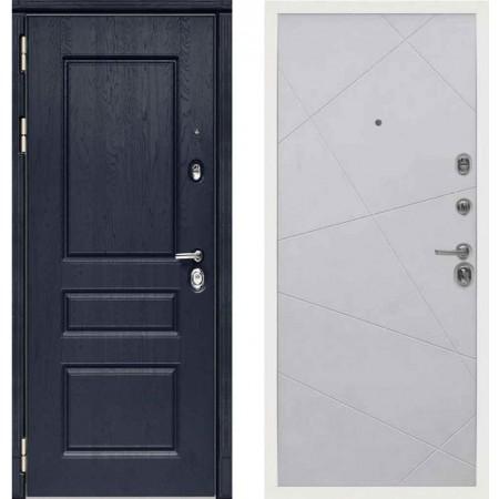 Входная дверь Сударь МД-45 Роял Вуд синий - M11 Силк маус