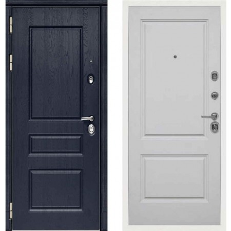Входная дверь Сударь МД-45 Роял Вуд синий - M7 Силк маус