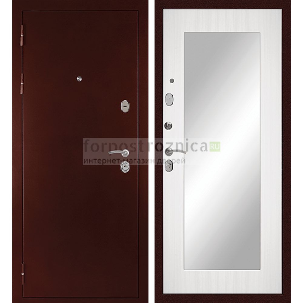 Входная дверь Сударь С-503 (с зеркалом)