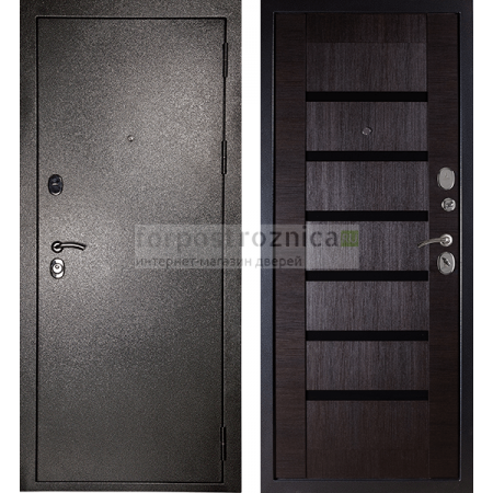 Входная дверь Сударь МД-05 Серебро (Трехконтурные)