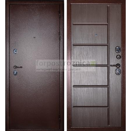 Входная дверь Сударь С-503 Венге (Антивандальные)