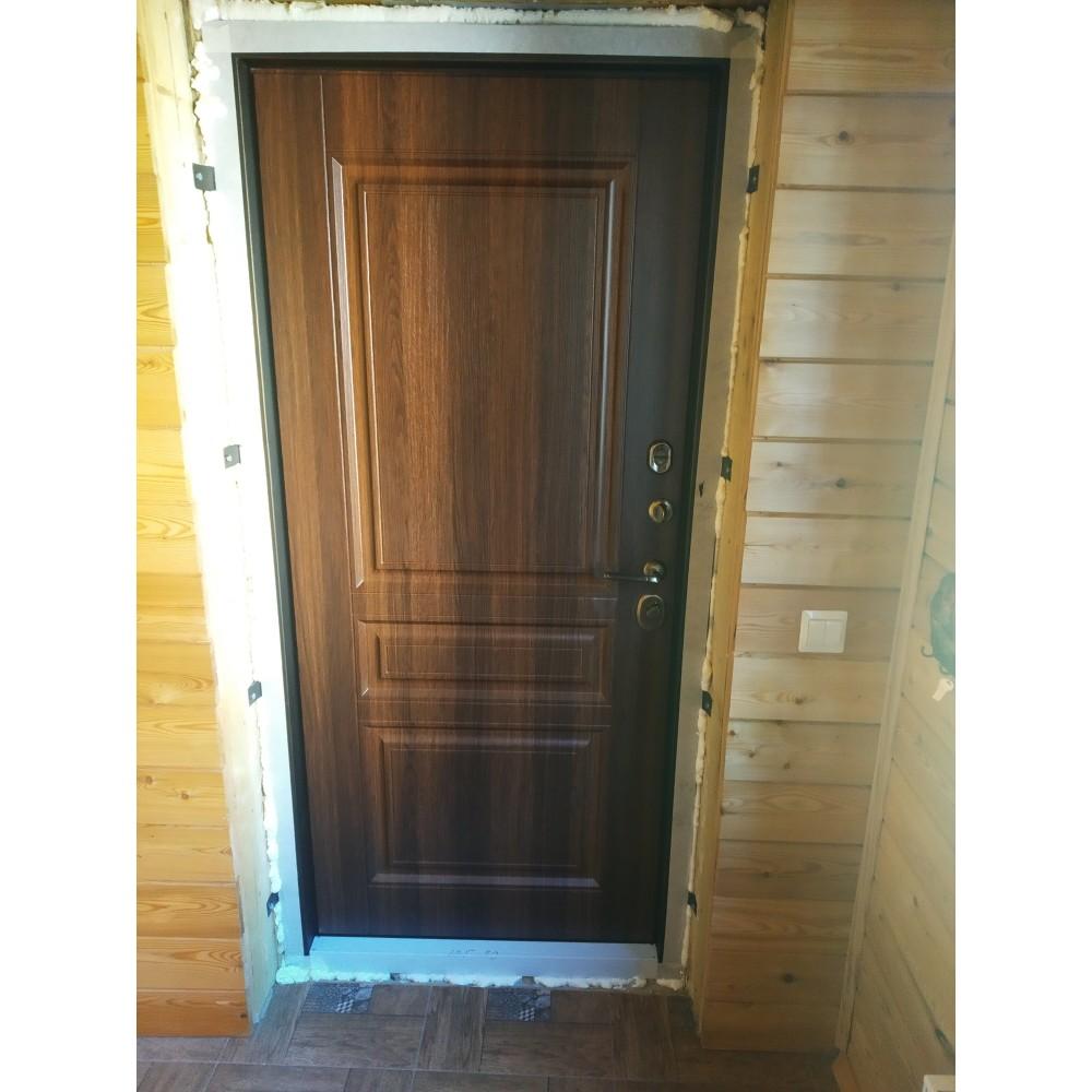 Входная дверь АСД Терморазрыв 3К Аляска Статус каньяк (с терморазрывом)