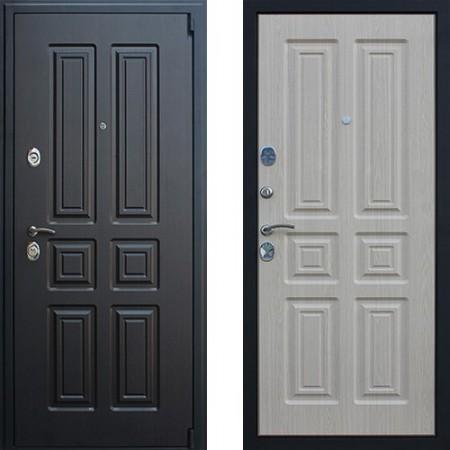 Входная дверь АСД Атлант в цвете беленый дуб (сейфовые)