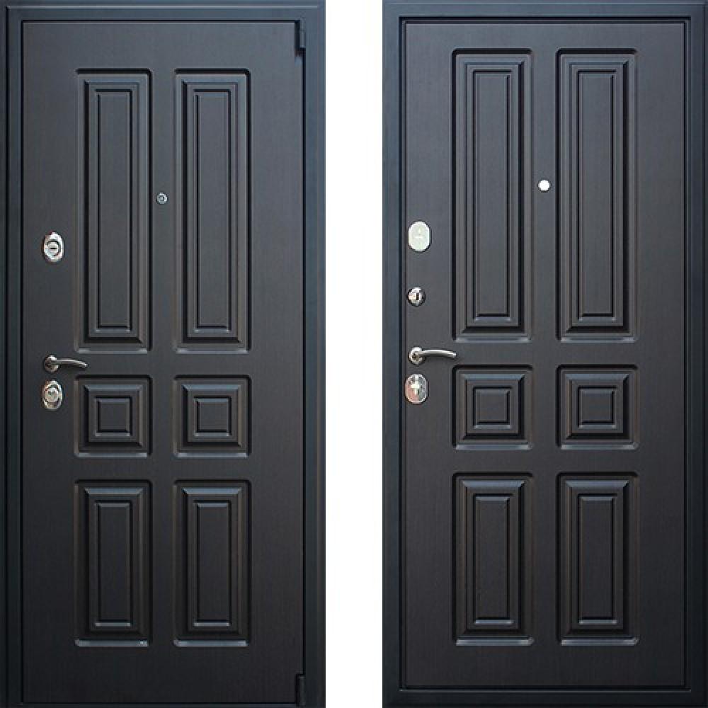Входная дверь АСД Атлант в цвете венге (сейфовые)
