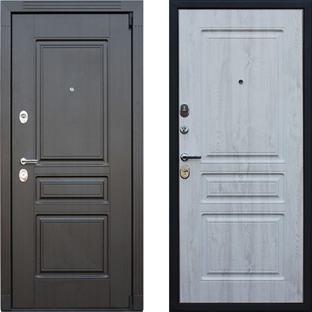 Входная дверь АСД Гермес NEW в цвете белая сосна (сейфовые)