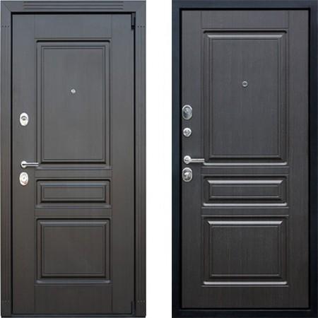Входная дверь АСД Гермес NEW в цвете венге (сейфовые)