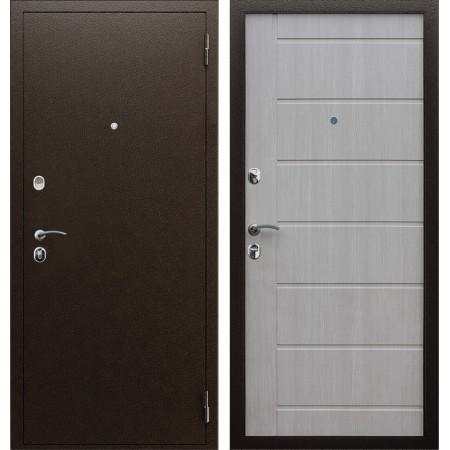 Металлическая дверь в квартиру АСД Комфорт эко дуб