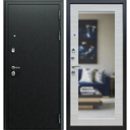 Стальная дверь Асд «Next 1» с зеркалом