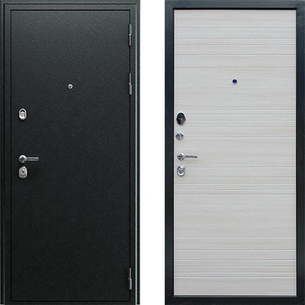 Входная дверь АСД Next 1 в цвете акация светлая (Антивандальные)