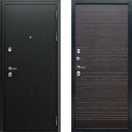 Входная дверь АСД Next 1 в цвете венге (Антивандальные)