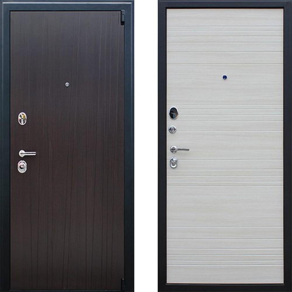 Входная дверь АСД Next 2 в цвете акация светлая (с шумоизоляцией)