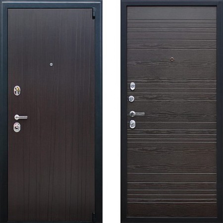 Входная дверь АСД Next 2 в цвете венге(с шумоизоляцией)