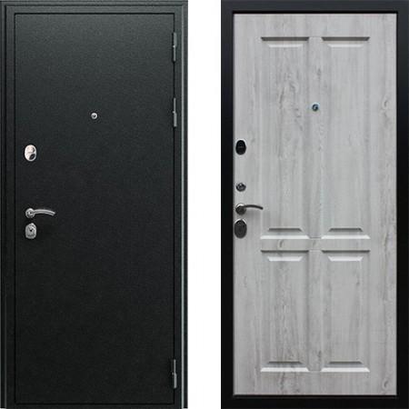Входная дверь АСД Прометей 3D в цвете белая сосна (сейфовые)