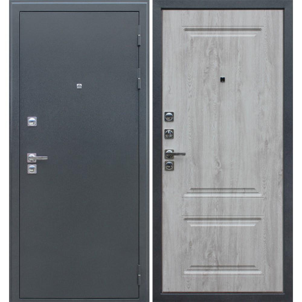 Дверь АСД 3К «Север» в цвете белая сосна (С терморазрывом)