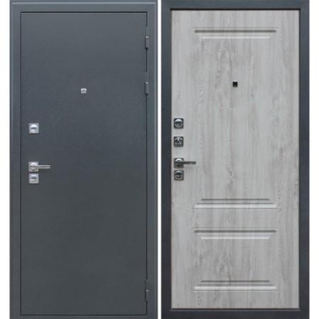 Входная дверь в дом с терморазрывом АСД 3К «Север» в цвете белая сосна (С терморазрывом)