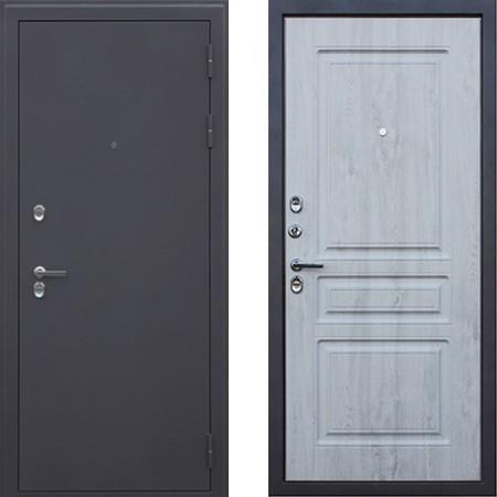 Входная дверь с терморазрывом для дома АСД 3К Сибирь в цвете белая сосна (С терморазрывом)