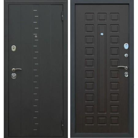 Входная дверь АСД Агата-3 в цвете венге (с шумоизоляцией)
