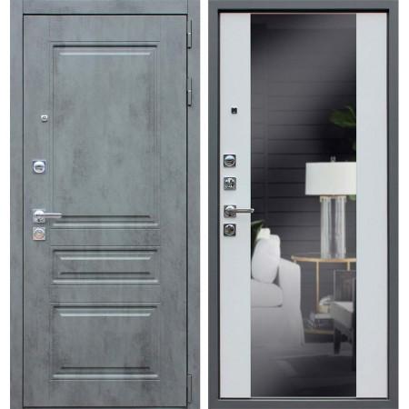 Входная дверь АСД Лира с зеркалом
