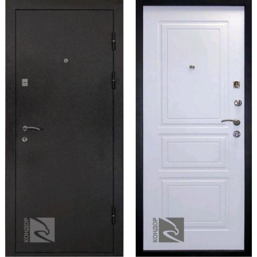 Входная дверь Кондор 8 Белый матовый