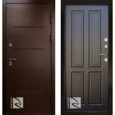 Входная дверь с терморазрывом для дома Кондор Термо Венге