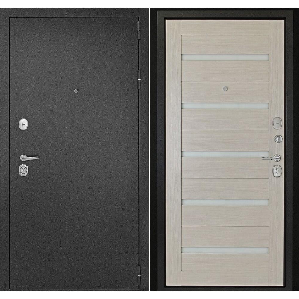 Входная дверь Континент  Гарант-1 Царга Лиственница (трехконтурные)