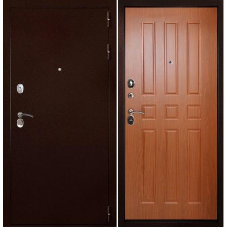 Дверь Континент-100 Орех (антивандальные)