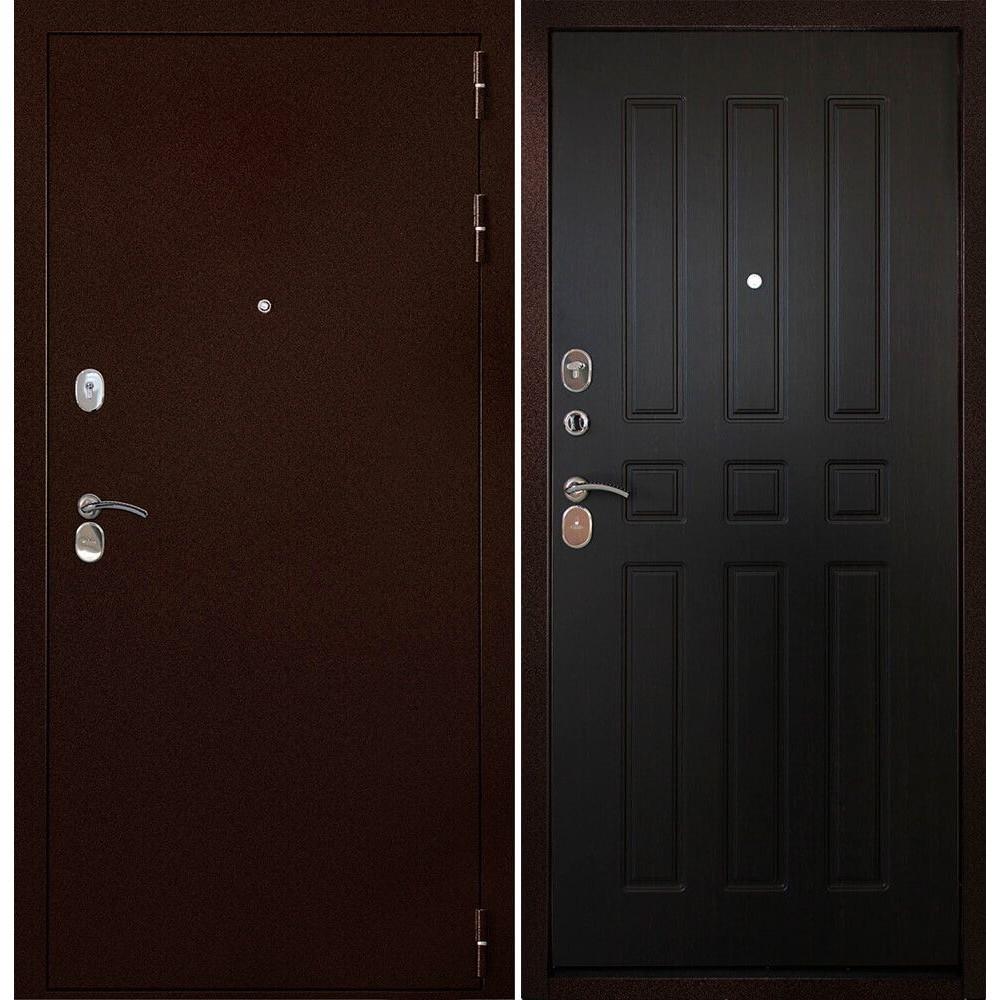 Дверь Континент-100 Венге (антивандальные)