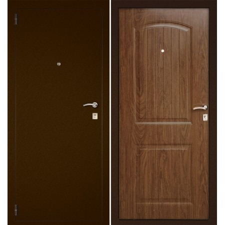 Дверь для квартиры Континент Классика Орех (Антивандальные)