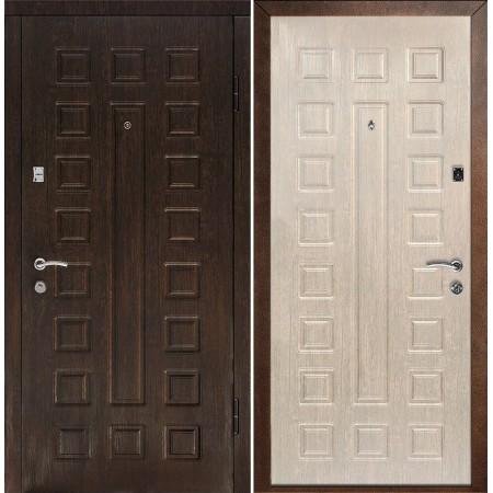 Дверь Континент Люкс Беленый дуб (с шумоизоляцией)