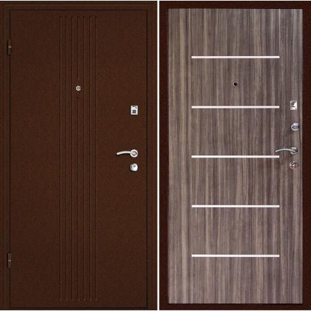 Металлическая дверь Континент  Синергия Дуб сонома (Антивандальная)