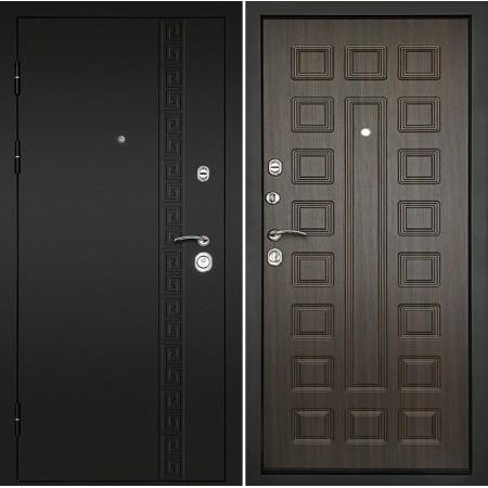 Входная дверь Континент Сити-3К Венге (трехконтурные)