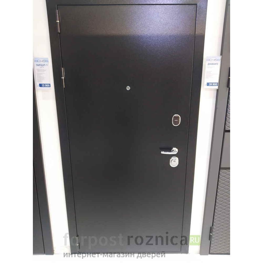 Входная дверь Континент Гарант-100 Царга Венге (антивандальные)