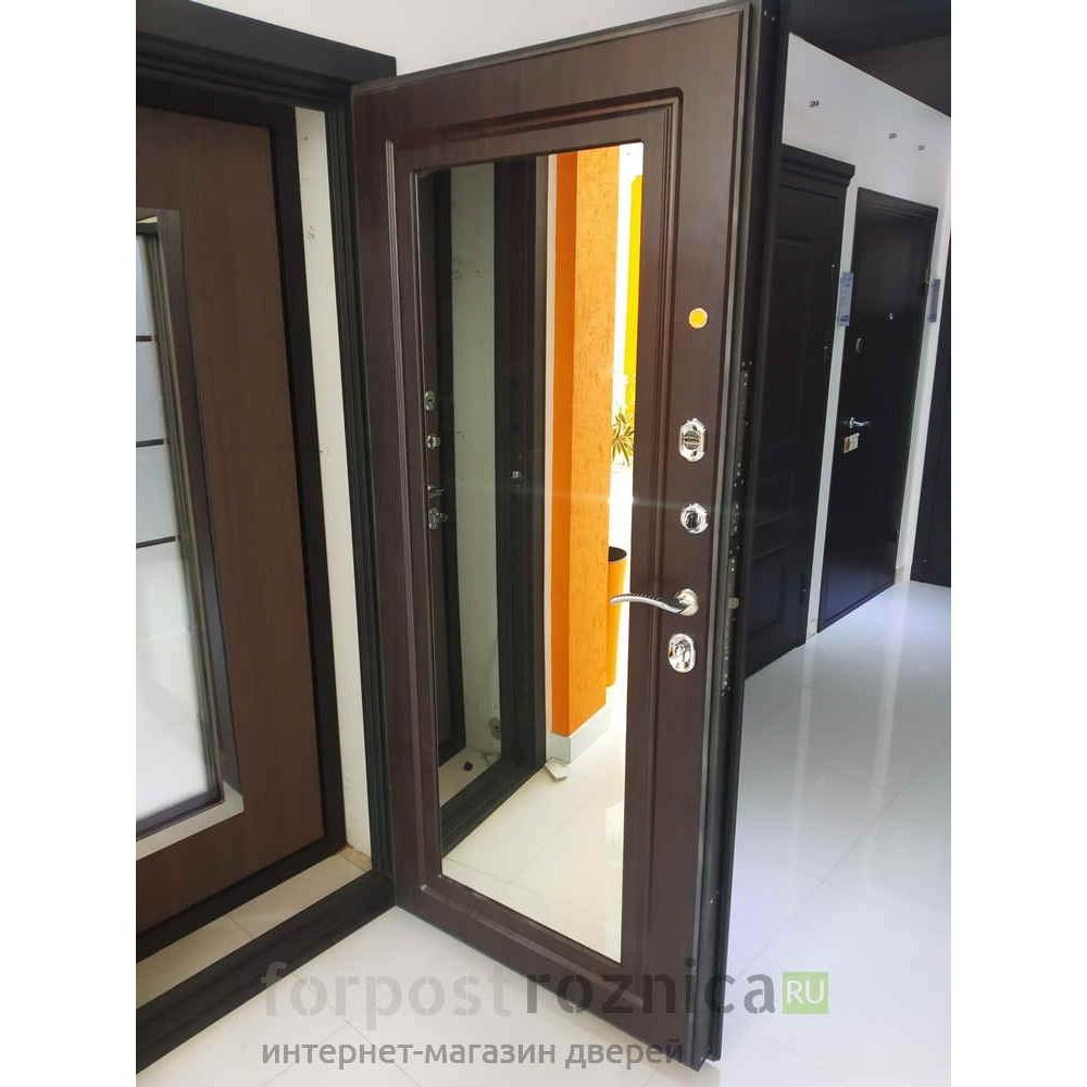 Входная дверь Континент СИТИ-Z3К Венге (утепленные)