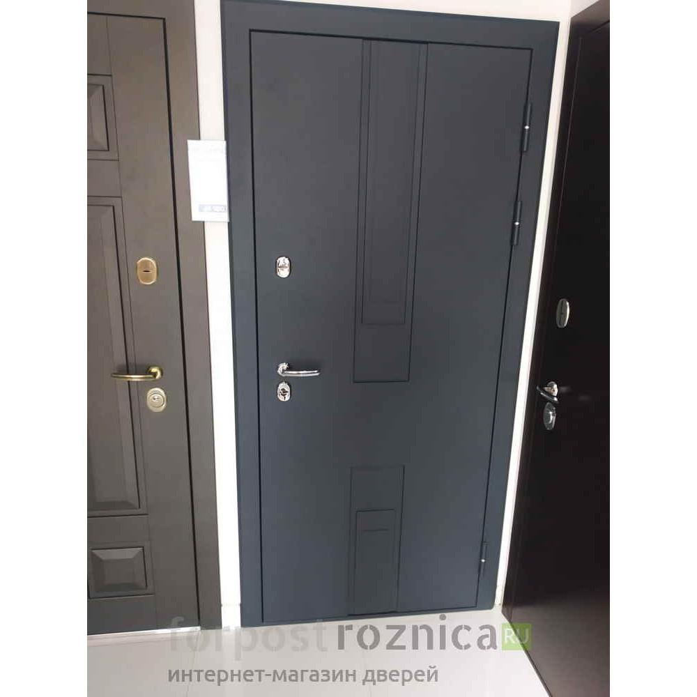 Входная дверь Континент  Тоскана Белая (трехконтурные)