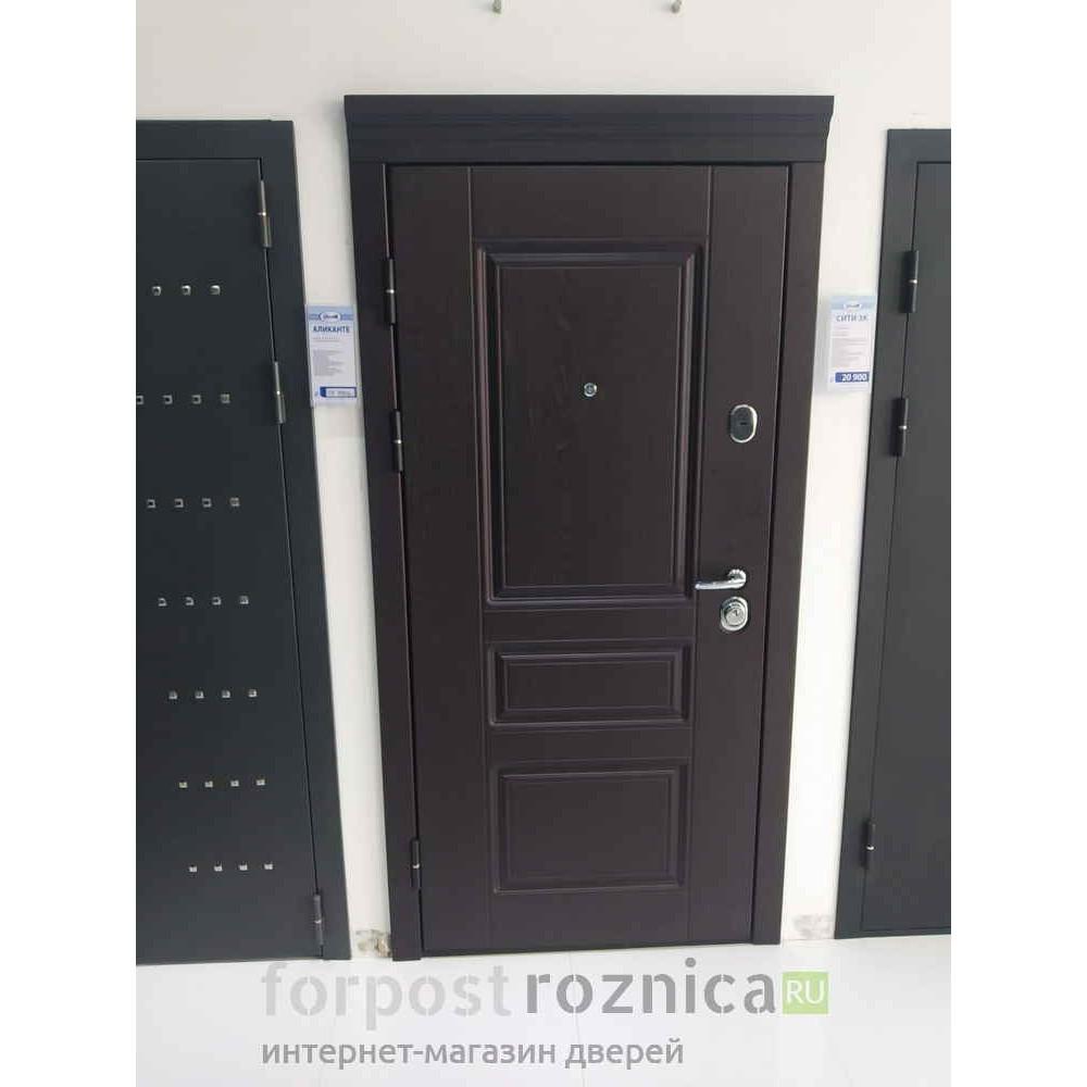 Входная дверь Континент Аликанте  ( с шумоизоляцией)