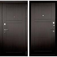 Металлическая дверь Континент Тепло-Макс 3К Венге