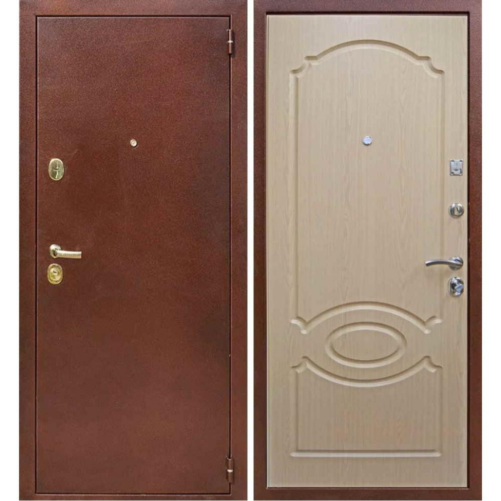 Входная дверь Лекс 3 в цвете Дуб