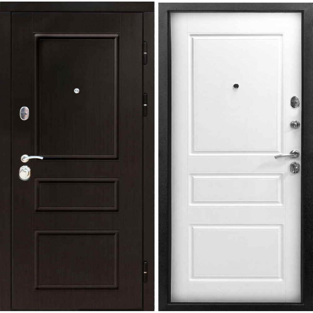 Входная дверь Йошкар-Ола Гранд белая эмаль (С шумоизоляцией )