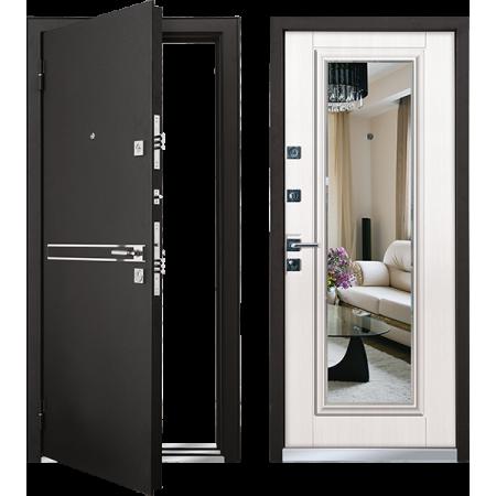 Входная дверь Мастино Cielo Шамбори светлый (Parko) - Зеркало