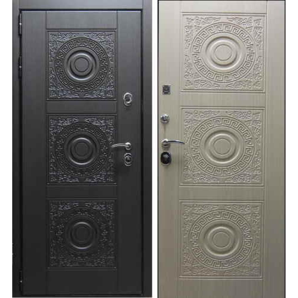 Заводские двери Богема в цвете беленый дуб