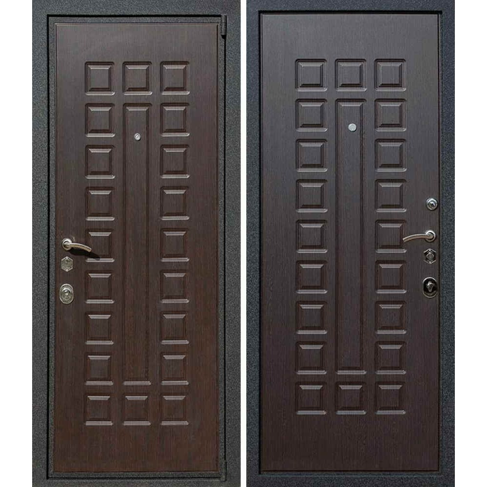 Входная дверь Лекс Гладиатор в цвете Венге