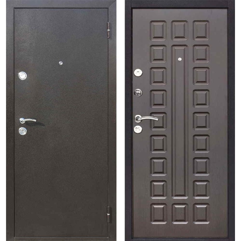Входная дверь Йошкар-Ола Престиж в цвете Венге ( Антивандальные )