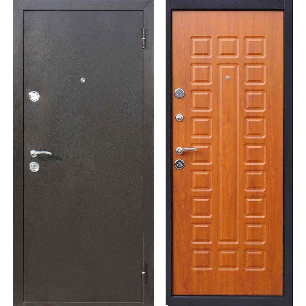 Входная дверь Йошкар-Ола Престиж в цвете золотой дуб