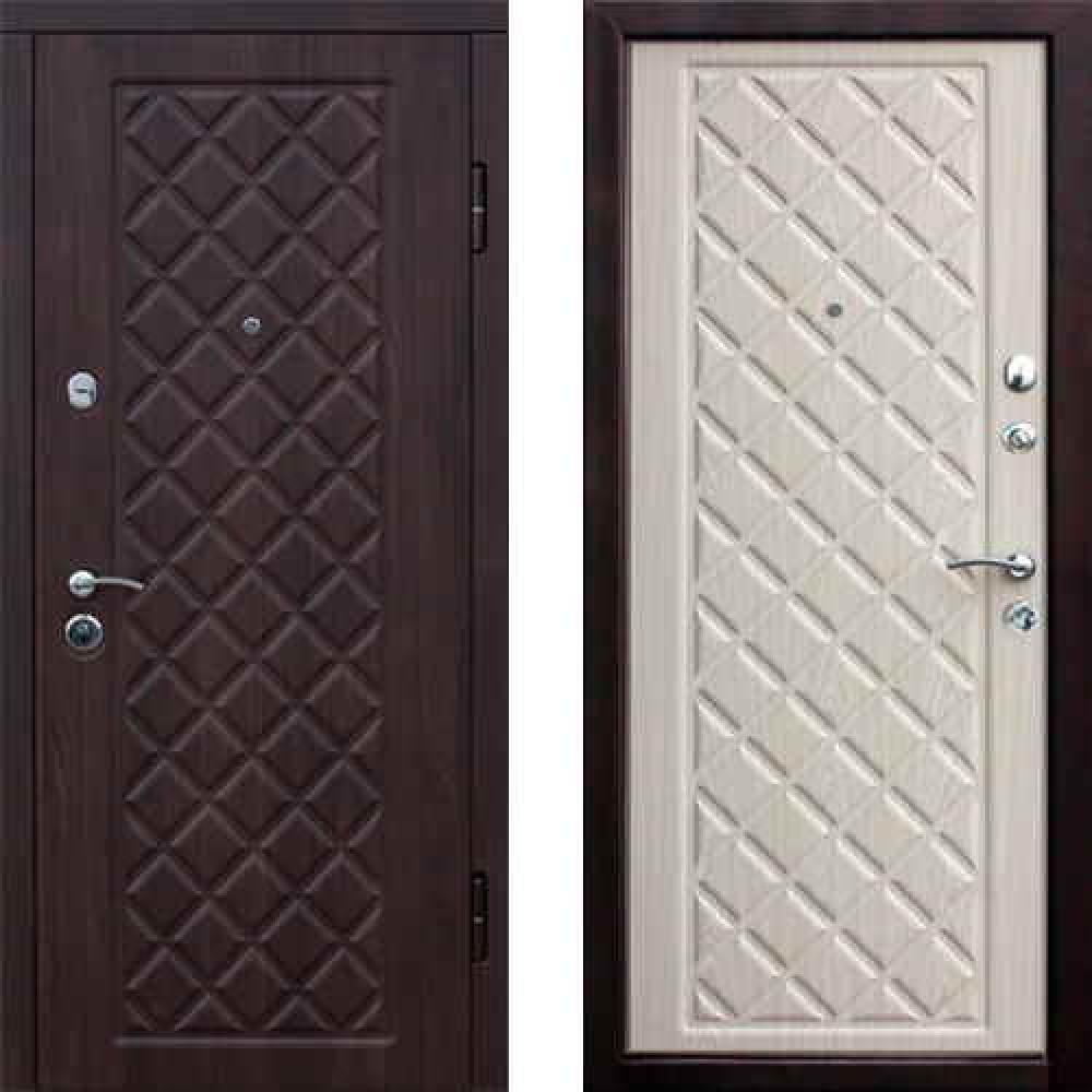 Входная дверь Цитадель Kamelot Беленый Дуб (Трехконтурные)