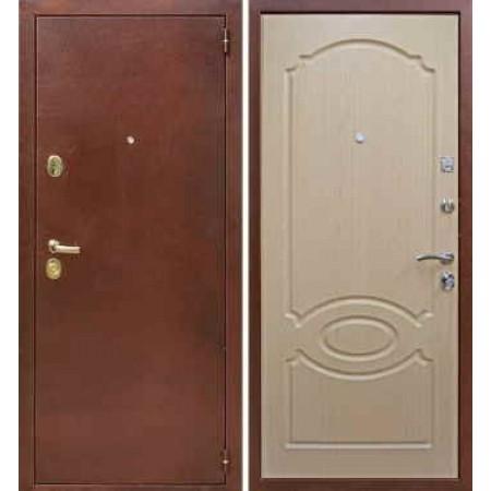 Входная дверь Лекс 2 в цвете Беленый Дуб