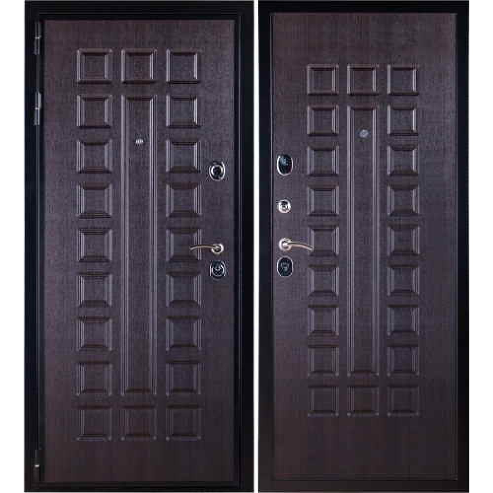 Заводские двери Премиум 3К в цвете венге