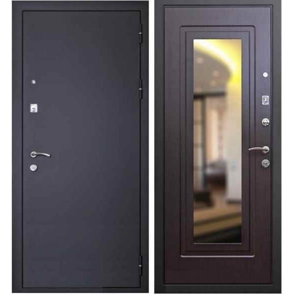 Входная дверь Кондор Престиж с зеркалом венге