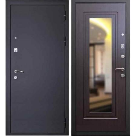 Входная дверь с зеркалом Кондор Престиж венге