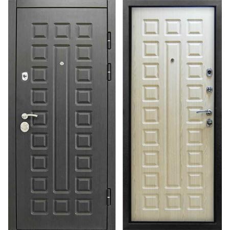 Входная дверь Сенатор 2К  Венге - лиственница белая